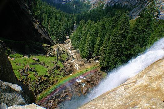 Rainbow Over Nevada Falls by Jane Girardot