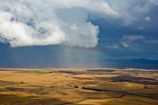 Randall Branham - Rainbow over Palouse