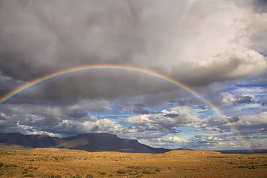 Rainbow Over The Karoo by Mario Moreno