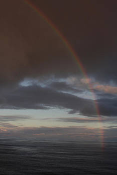 Kenna Westerman    - Rainbow over the Pacific