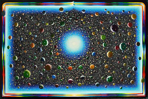 Rainbow Planets by Karma Moffett