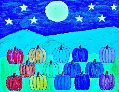 Artists With Autism Inc - Rainbow Pumpkins