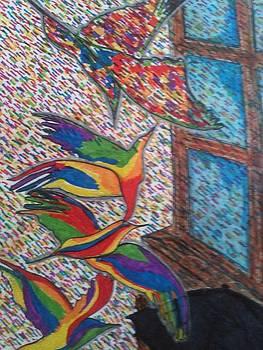 Rainbow Rain by Angela Glover