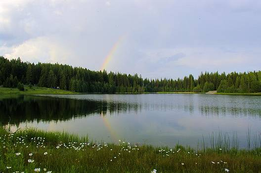 John Greaves - Rainbow Reflection Marshall Lake