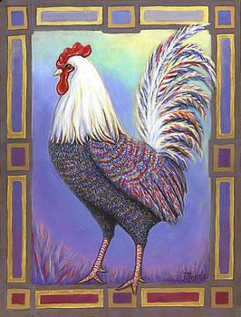 Linda Mears - Rainbow Rooster