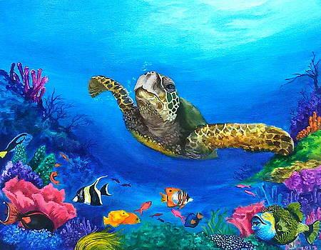 Rainbow Reef by Kathleen Kelly Thompson