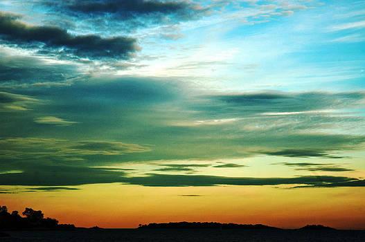 Rainbow Sky by Katina Borges