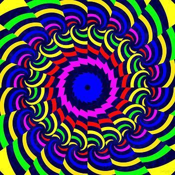 Rainbow Spirals by Derek Gedney