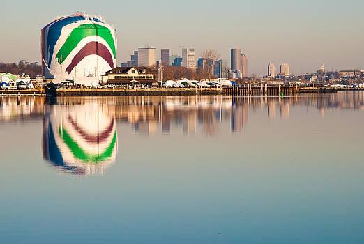 Boston Gas Tank by Lee Costa