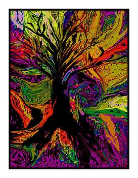 Rainbow Tree by Lee Green