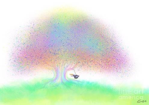 Nick Gustafson - Rainbow Tree Swinging