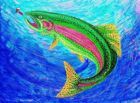 Rainbow Trout by Cynthia Sampson
