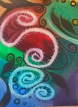 Rainbow Vortex by Tiffany  Rios