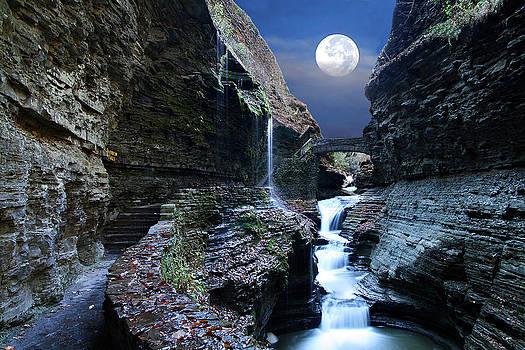 Rainbow Waterfalls by David Simons