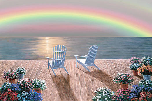 Rainbow Wishes by Diane Romanello
