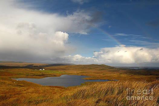 Rainbows in Connemara  by Annie  Japaud