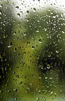 Raindrops on my window by Chris  Clark
