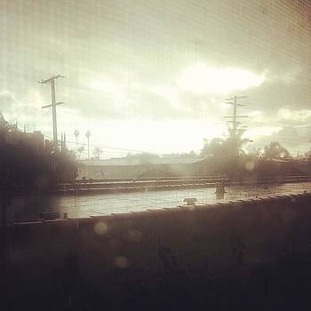 #raining I Would Quote Poetry Right by Zarah Delrosario