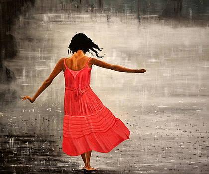 Raining in the Dance by Robert Crooker