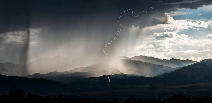 Rainshower Lightning Bolt by Christopher Broste