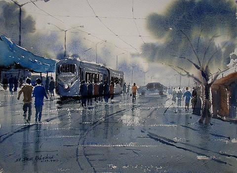 Rainwashed Kolkata by Jiaur Rahman