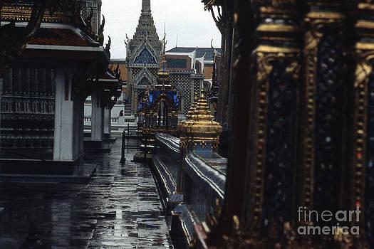 Rainy Day in Bangkok by Scott Shaw