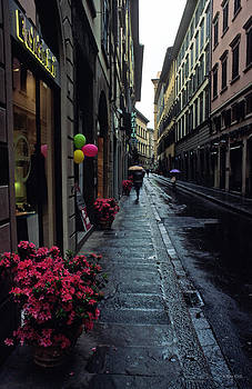 Kathy Yates - Rainy Day in Florence