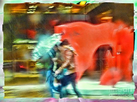 Rainy Day In New York City by Jeff Breiman