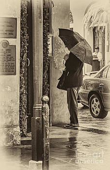 Kathleen K Parker - Rainy Day Menu Reading - Monochrome