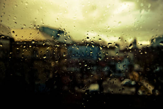 Rainy Landscape 03 by Grebo Gray