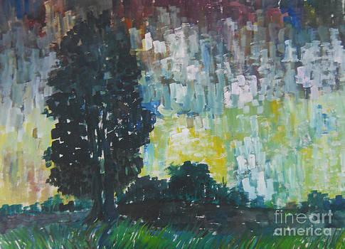 Rainy  Light  by Somnath Mukhopadhyay