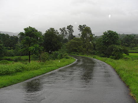 Rainy by Makarand Kapare