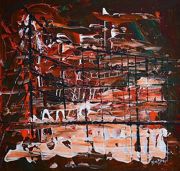 Donna Blackhall - Rainy Night In The Harbor