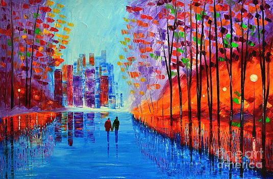 Rainy nights by Mariana Stauffer