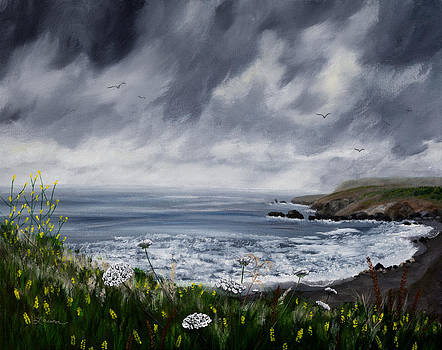 Laura Iverson - Rainy Springtime in Pacifica