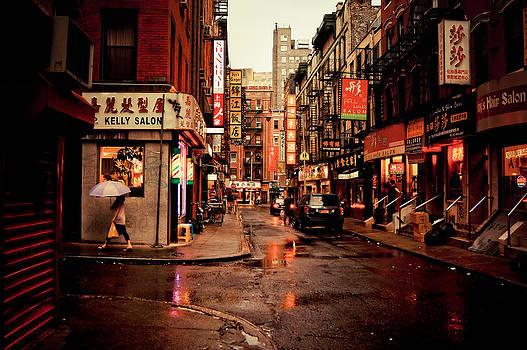 Rainy Street - New York City by Vivienne Gucwa
