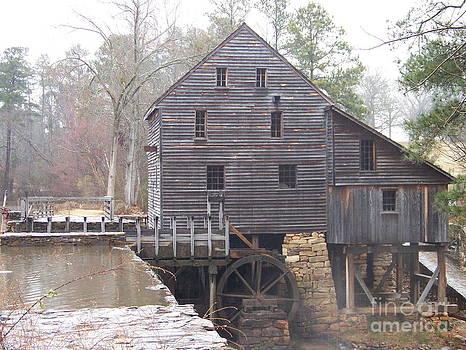 Rainy Yates Mill by Kevin Croitz
