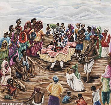 Rajasthani Dancer by Susanna Raj