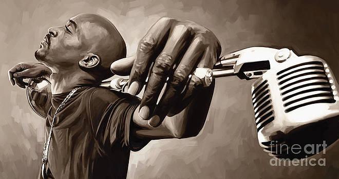 Rakim Artwork by Sheraz A