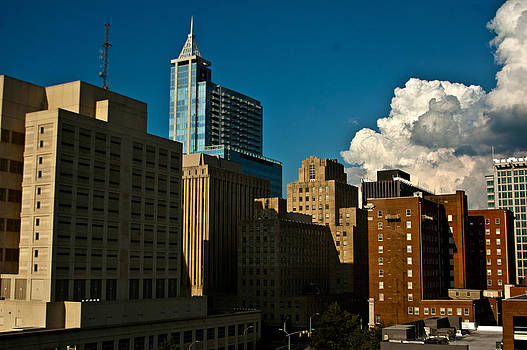 Raleigh Skyline by Clay Pritchard
