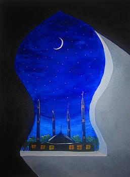 Ramadan Moon by Haleema Nuredeen