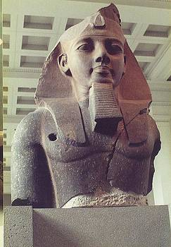 Ramesses ll at British Museum by Dave Basara