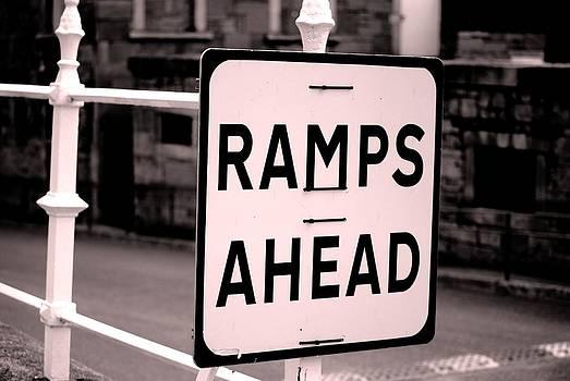 Ramps ahead by Arylana Art
