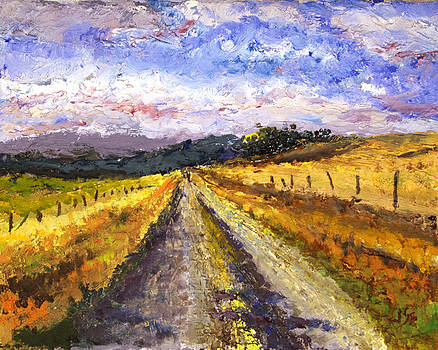 Ranch Road at Ryegate by Jennifer Braxton