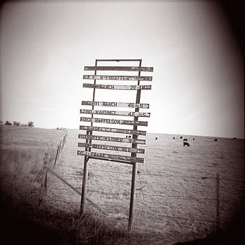 Matthew Lit - Ranch Sign