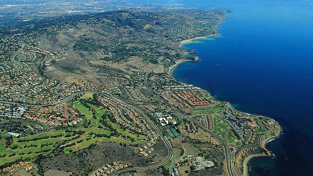 Rancho Palos Verdes Aerial by Richard Hinds