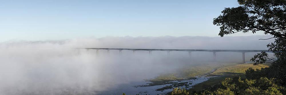 Scott Bean - Randolph Bridge in Fog