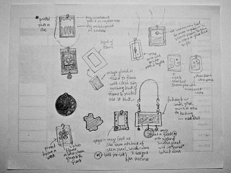 Sandy Tolman - Random Project Plans Scribble
