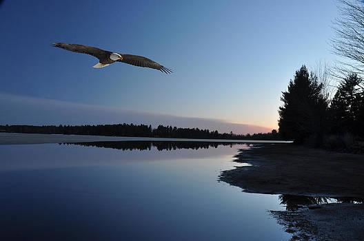 Rangeline Lake by RJ Martens