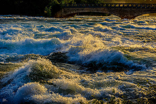Rapids at Dusk by Pat Scanlon